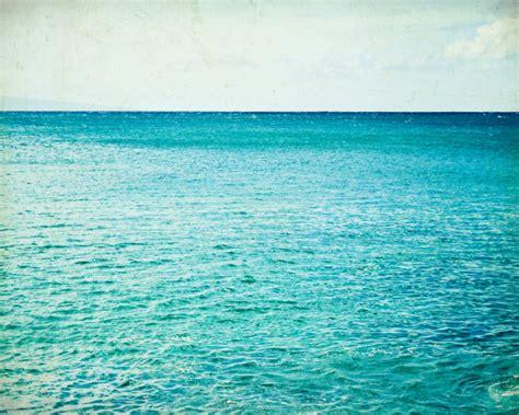 teal water photograph aqua teal blue water sky by lupengrainne