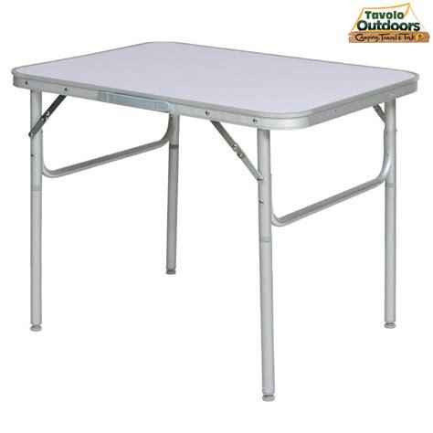 tavolo picnic tavolo tavolino pieghevole in alluminio 70x110x70 cm pic