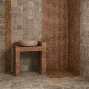 Charmant Nettoyage Carrelage Salle De Bain #7: travertin-rouge-mosaique-carreaux-travertin-gris_1.jpg