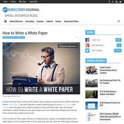 how to write a white paper for business styleguide writing pearltrees