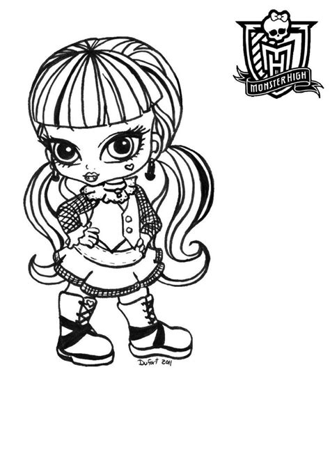 coloring page monster high free printable monster high coloring pages for kids