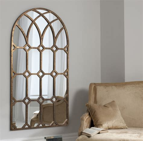 Outdoor Candle Sconces Wall Arabella Bronze Arched Mirror
