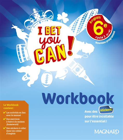 world building guide workbook books i bet you can 6e 2017 workbook magnard enseignants