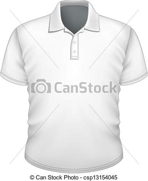 eps vector of men s polo shirt design template vector