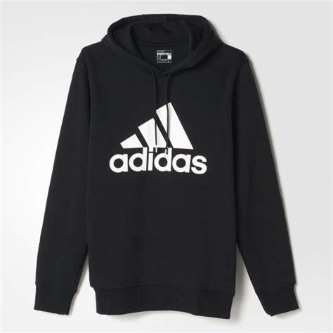 Pakaian Sport Hoodie Untuk Anjing jual pakaian casual adidas logo hoodie black original