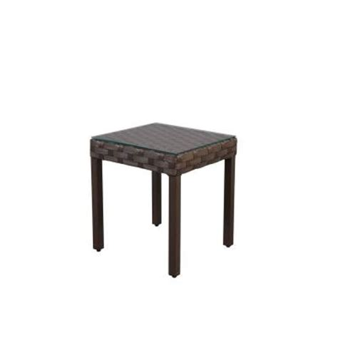 patio table home depot hton bay raynham patio accent table dy12091 ta the