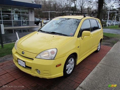 Suzuki Aerio Awd 2003 Electric Yellow Suzuki Aerio Sx Awd Sport Wagon