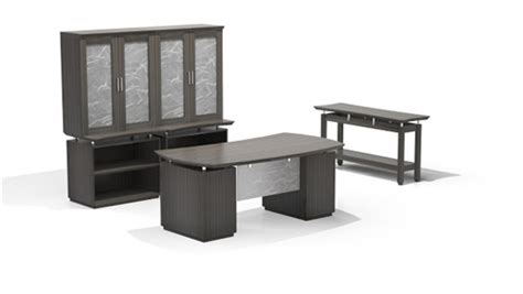 mayline sterling edition executive office furniture set
