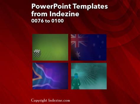 Powerpoint Templates From Indezine 004 Designs 0076 To 0100 Indezine Indezine Powerpoint Templates