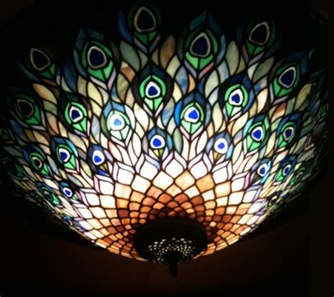 Peacock Ceiling Light by Feast Or Family Carmon S Bistro