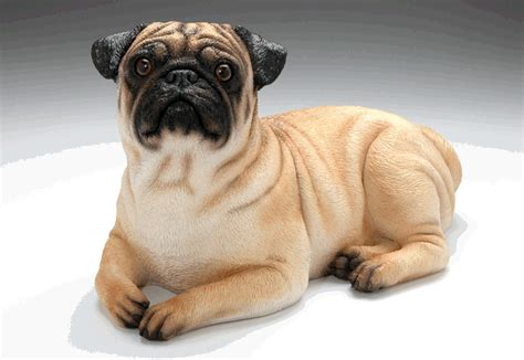 pug urns memorial sculpture urn pug