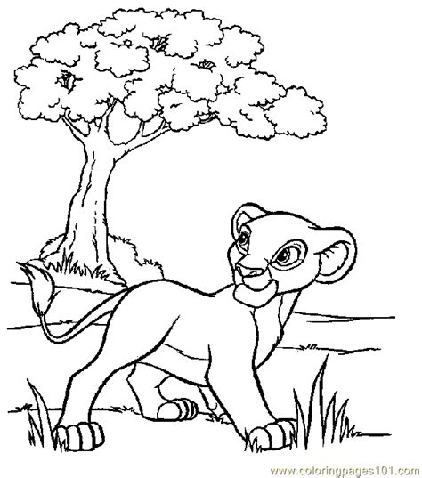 lion king coloring pages free online coloring pages lion king coloring page 10 animals gt lion