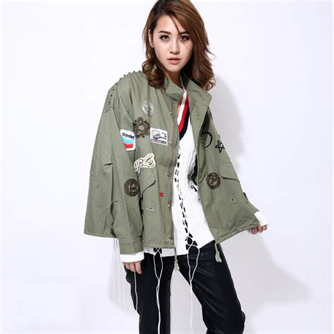 basic jacket layout aliexpress com buy twotwinstyle streetwear bomber