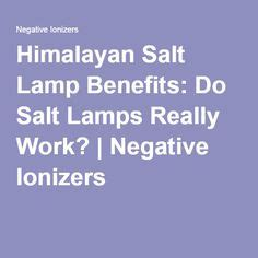 Do Salt Ls Actually Work by 1000 Ideas About Himalayan Salt Benefits On