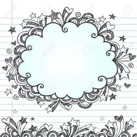 doodle border ideas background notebook search backgrounds