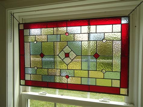 curtains for stained glass windows tiffany styled stained glass window panel valance curtain