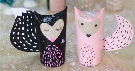 how to make critters out of toilet paper rolls the