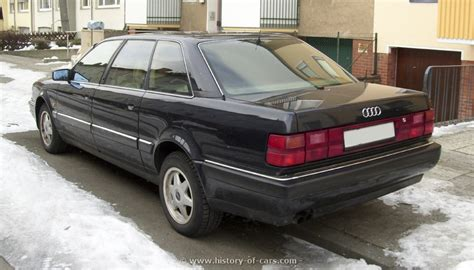 Audi V8 Lang by Audi 1991 V8 Lang The History Of Cars Cars
