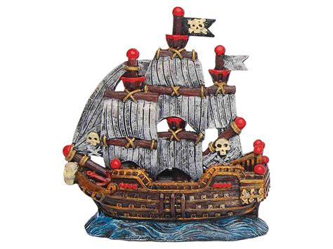 sailing pirate ship aquarium ornament fish tank decoration