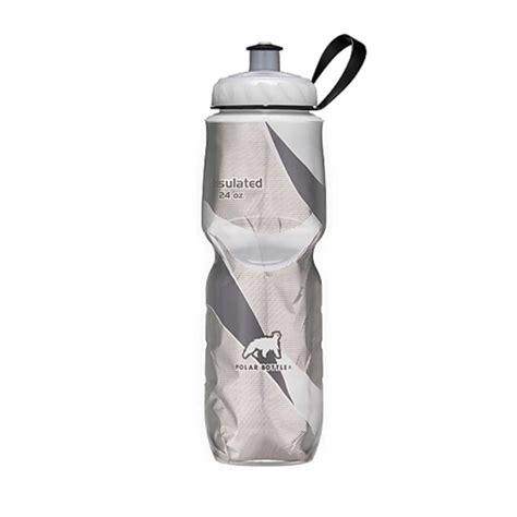 Polar Bottle Water Bottle 600ml Black Pattern polar black pattern water bottle 24oz thesportstore pk