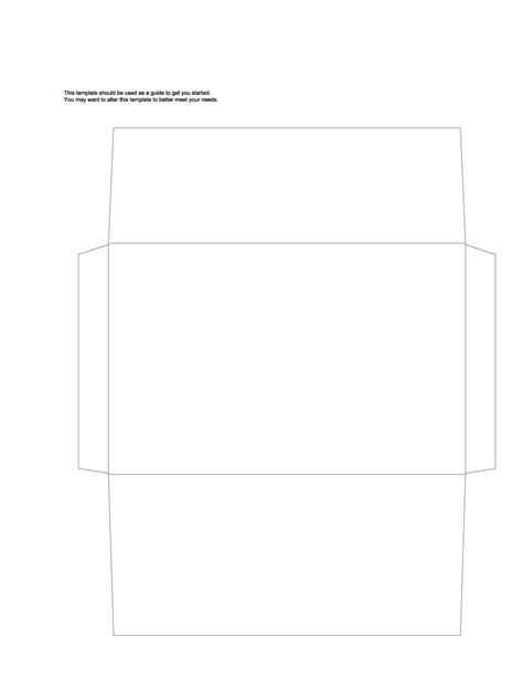 mead envelope templates gallery templates design ideas