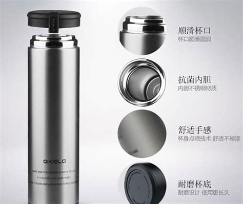 Termos 1 Liter Stainless Travel Portable Panas Dingin Botol Minum qkella botol minum thermos stainless steel 450ml silver jakartanotebook