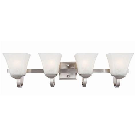 design house vanity lighting design house torino 4 light satin nickel vanity light