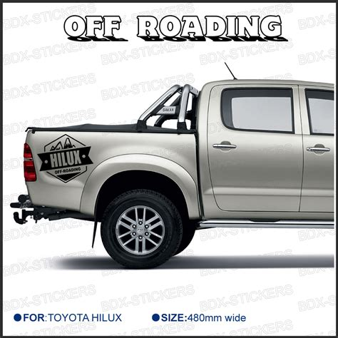 cool toyota cool toyota truck stickers kamos sticker
