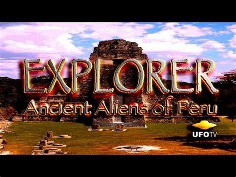 Best Quality X Nasa Doble Hologram Sudah Bpom Ufotv 174 Ancient Aliens In Peru Directors Feature