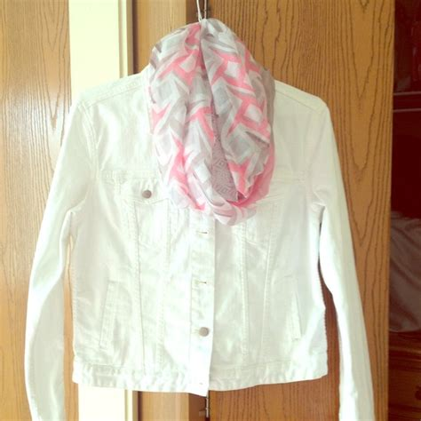 Gap White Denim Jacket 56 gap jackets blazers white denim jean jacket