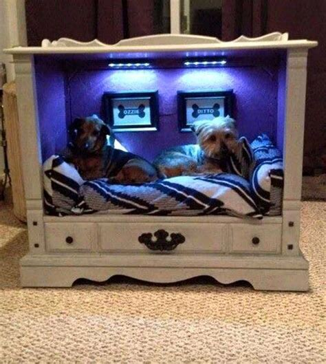 old dresser into dog bed how precious and cozy is this an old dresser turned into