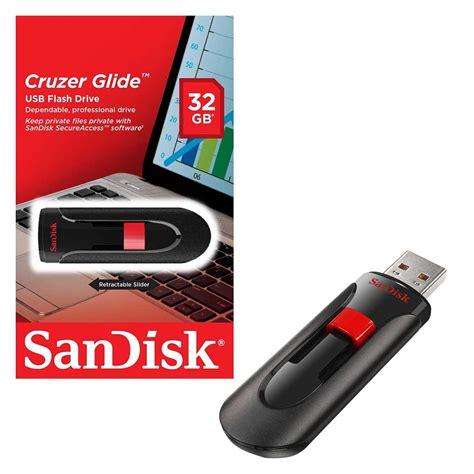 Sandisk Cruzer Glide 32gb 32gb sandisk cruzer glide usb 2 0 flash drive usb 2 0