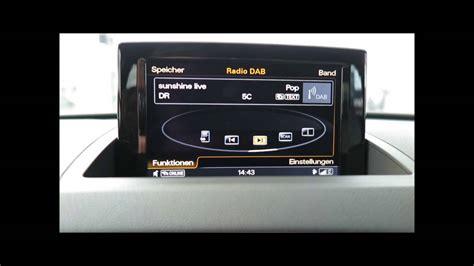 Audi Mmi Radio by Audi Q3 Facelift 2014 Radio Mmi