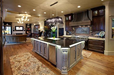 kitchens in today s open concept home allenton homes kitchen open concept homes pinterest