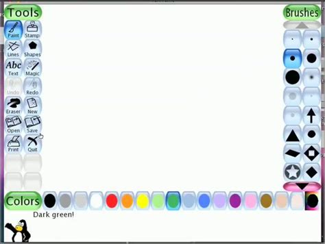 tux paint in a nutshell on vimeo