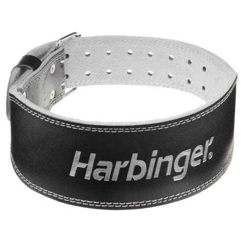 academy harbinger 4 quot padded leather weight lifting belt