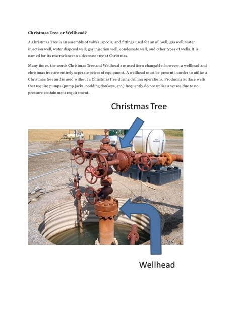 christmas tree gas well ppt tree