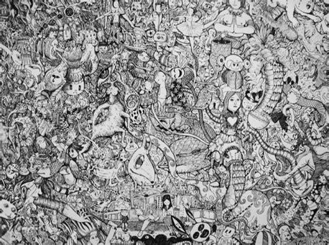 manic doodle drawings by sagaki keita notebook doodles enpundit
