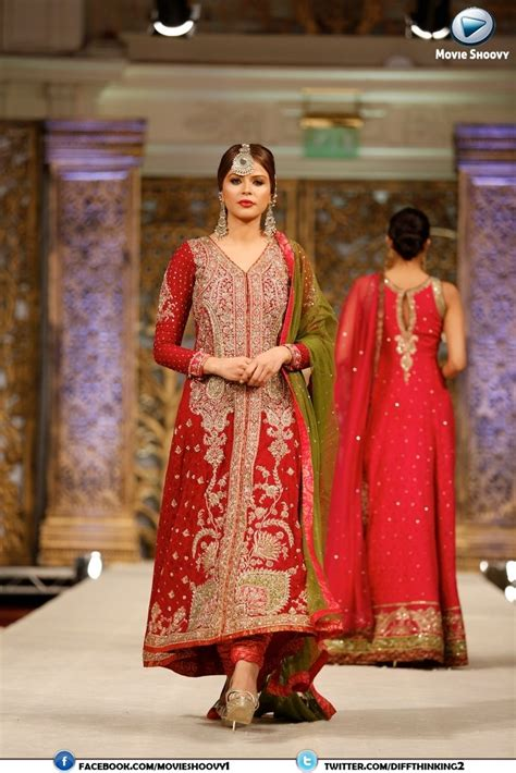 Shoo V Asia zaheer abbas collection at weddings of asia pakistan