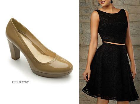 zapatos para vestido corto 191 qu 233 zapatos usar con un vestido negro blog flexi