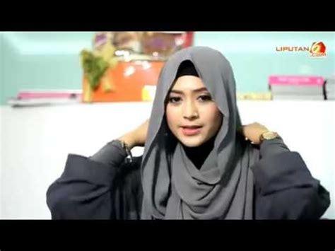 tutorial pashmina tanpa jarum tutorial cara memakai jilbab pashmina tanpa jarum youtube