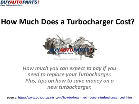 how much does turbochager cost