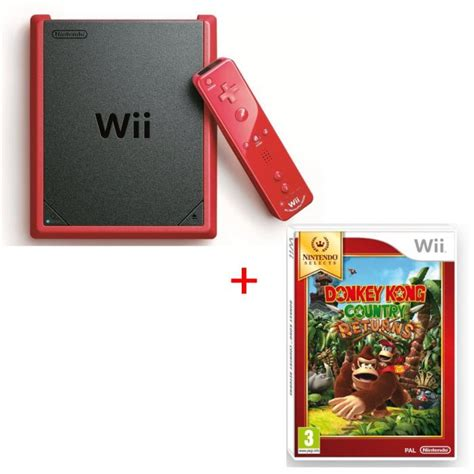 wii mini console console wii mini kong country returns nintendo