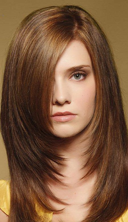 mid length layered haircuts for full face length layered haircuts for full face chin length
