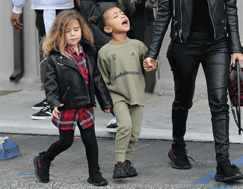 young students with older adultsby kim ingallsfor the tribune things kanye west s kids model his new children s clothes and