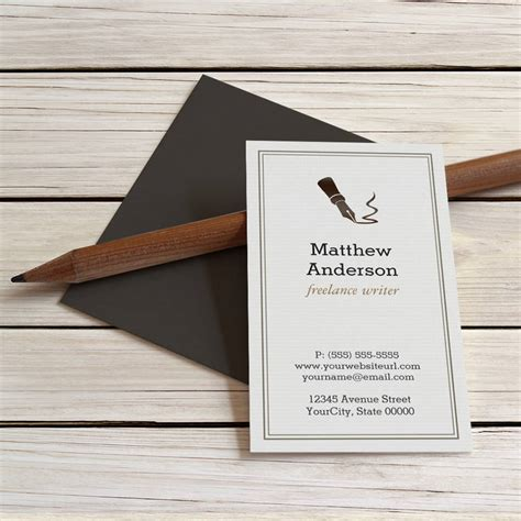 journalist business card template creative journalist business cards choice image card