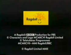 a ragdoll production for central image ragdoll 2001 for pbs logo 2 png teletubbies wiki