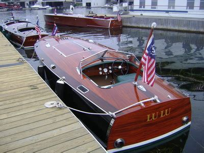 garwood wooden boats speedsters gar wood custom boats