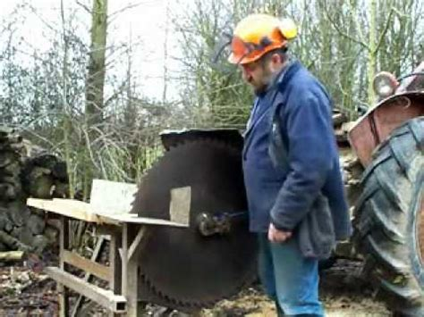 circular saw bench for logs sharpening a circular saw for cutting firewood part one