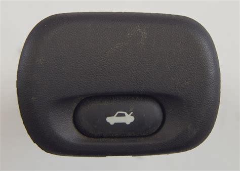 corvette  rear hatch release trunk button